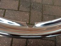 AUSTIN A70 HEREFORD, HAMPSHIRE, A90 ATLANTIC,  NEW WHEEL RIM EMBELLISHERS X 4